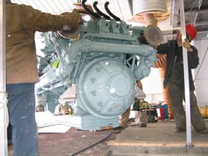 Boat Repairs - Shepler's Ferry